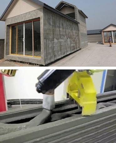 Imprimante 3D : 10 maisons construites en moins de 24 heures !